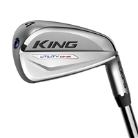 Cobra King Utility Chrome One-Length Graphite Iron