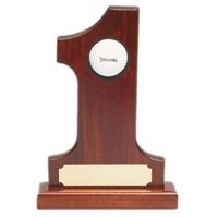 Hole-IN-1 Rosewood Trophy