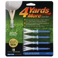 "4 Yards More 3 1/4"" Tees"