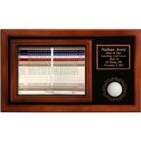 Scorecard Memorable Moments Display