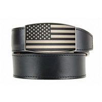 Nexbelt USA Heritage Black Aston Black Dress Belt