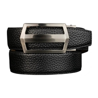 Nexbelt Classic Pebble Grain Pitch Black Belt