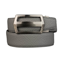 Nexbelt Classic Pebble Grain Smoke Grey Belt