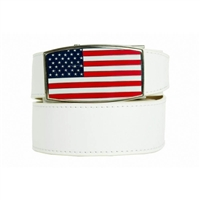 Nexbelt Heritage USA Aston White Belt