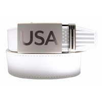 Nexbelt Super Patriot White Belt
