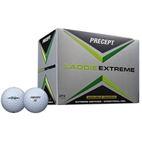 Precept Laddie Extreme Double Dozen White Golf Balls