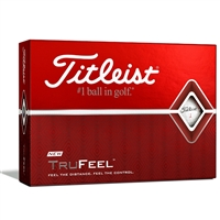 Titleist TruFeel Personalized White Golf Balls