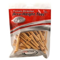 "Accuheight 3 1/4"" 40pk Tees"
