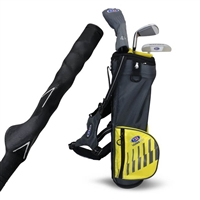 "U.S. Kids Ultralight 42"" 3-Club Training Carry Bag Set"