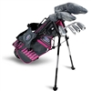 U.S. Kids Ultralight 45-s 6-Club DV3 Stand Bag Set