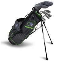 "U.S. Kids Ultralight 57""-s 7-Club DV3 Stand Bag Set"