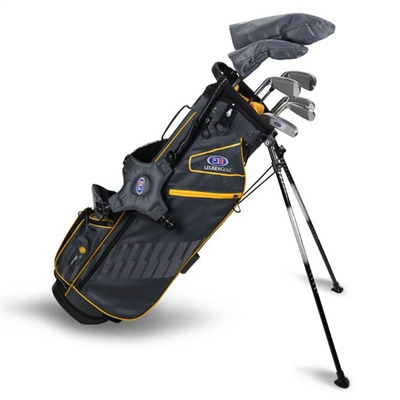 "U.S. Kids Ultralight 63""-s 7-Club DV3 Stand Bag Set"