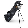 "U.S. Kids Tour Series 63"" 10-Club Graphite Stand Bag Set"