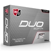 Wilson Duo Soft+ White Golf Balls