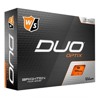 Wilson Duo Optix Orange Golf Balls