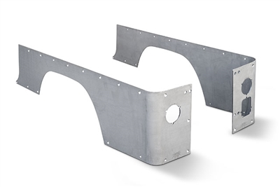 CJ-8 Crusher Corners - Standard (Aluminum)