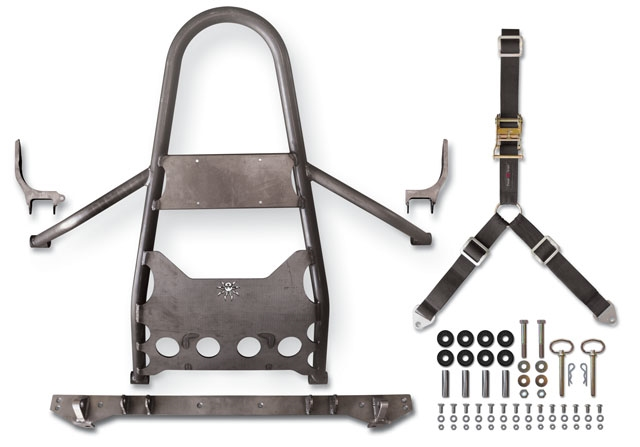 Jeep rear stinger tire carrier #5