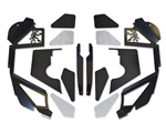 JK Front Inner Fenders - Coilovers - Vented - Black