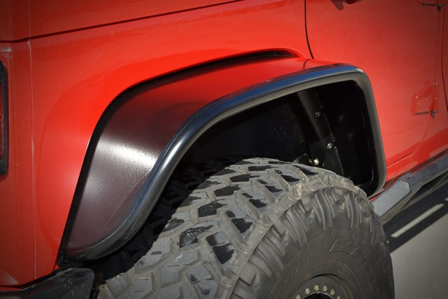 Jk Rear Crusher Flares Extra Wide Steel Jeep Wrangler Jk Rear