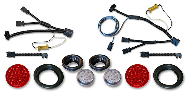 jk led tail reverse lights with wiring harnesses kit jeep led rh shop poisonspyder com