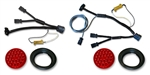 JK LED Taillights with Wiring Harnesses Kit