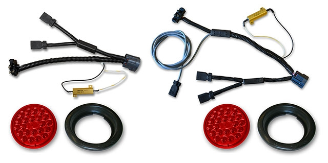 jk led taillights wiring harnesses kit jeep led lighting jk led taillights wiring harnesses kit