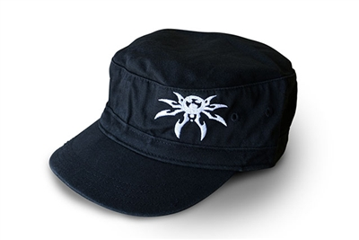 Spyder Logo Adjustable Fidel Hat - Black