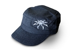 Spyder Logo Adjustable Fidel Hat - Gray
