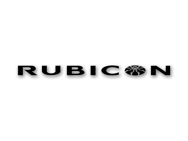 RUBICON Spyder Hood Side Decal - Black