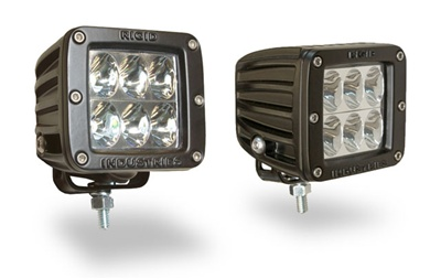 Rigid Ind. Dually D2 LED Lamps - Driving Beam (Pair)