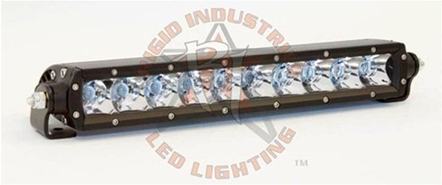 Rigid ind sr series 10 led light bar flood beam jeep led rigid ind sr series 10 led light bar flood beam aloadofball Choice Image