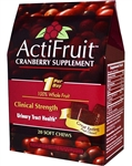Enzymatic Therapy - Actifruit Cranberry Supplement - 20 chews
