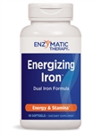 Enzymatic Therapy - Energizing Iron - 90 Gels