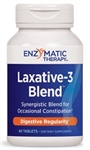 Enzymatic Therapy - Laxative-3 Blend - 60 tabs