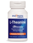 Enzymatic Therapy - L-Theanine - 60 Caps