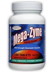 Enzymatic Therapy - Mega-Zyme - 100 Tabs