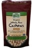 Now Natural Foods - Whole Organic Cashews (Raw/Unsalted) - 10 oz