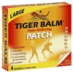 Tiger Balm - Pain Relieving Patch (Large) - 4 patches