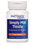 Enzymatic Therapy - Simply Milk Thistle - 60 Gels