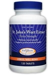 Enzymatic Therapy - St. John's Wort Extract Extra Strength - 120 Tabs