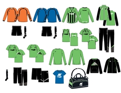Adult NJCSA Academy Goalies Kit