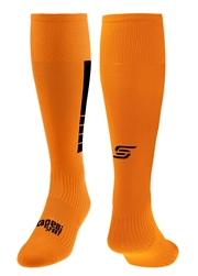 4 CUBE Soccer Sock With Ankle And Arch Support  Orange