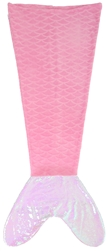 Capelli New York Mermaid Tail Throw with Reversible Sequin Tail