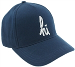 "Capelli New York Ladies ""Hi"" Baseball Hat with Sequin Embroidered"