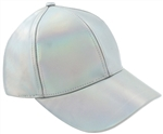 Capelli New York Ladies Iridescent Baseball Hat