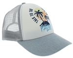 Capelli New York Ladies Talk to the Palm Trucker Cap