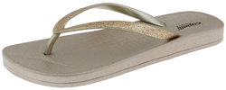 Capelli New York Ladies Fashion Flip Flops with Flexy Fit Body