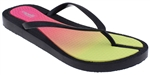 Capelli New York Ladies Fashion Flip Flops with Flexy Fusion Body