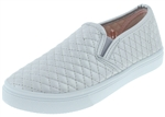 Capelli New York Girls Quilted Metallic Slip On Sneaker