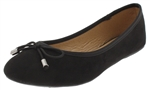 Capelli New York Ladies Flats with Grossgrain Binding